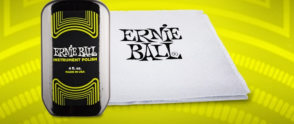 Ernie-Ball-Instrument-Polish-and-cloth