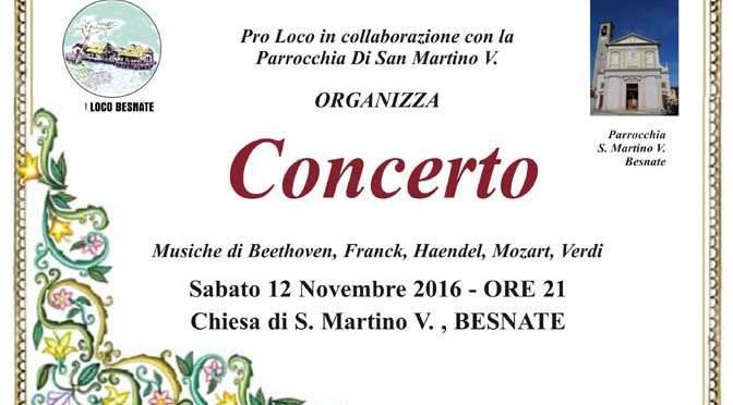 Concerto di San Martino 2016