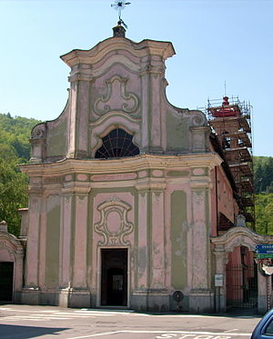 Facciata Chiesa San Sebastiano