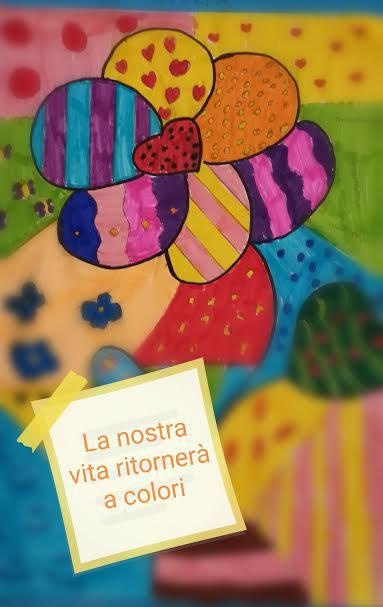 """La nostra vita ritornerà a colori"" Aurelio Melchionna – classe 1 A I.C. ""G. Stroffolini"" - Casapulla (CE)"
