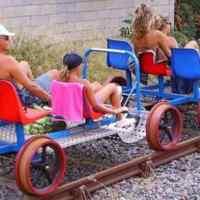 La Ferrociclovia della Val d'Orcia