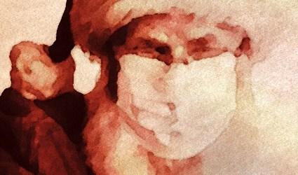 Babbo Natale è rosso o arancione?