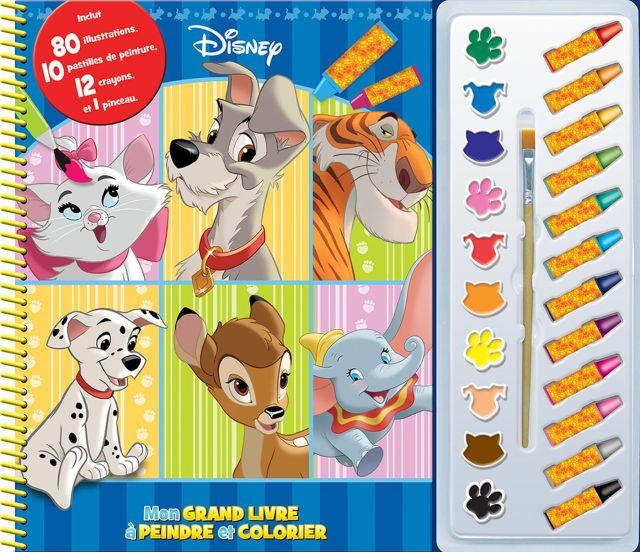 Disney : Mon grand livre à peindre et colorier  Distribution Prologue