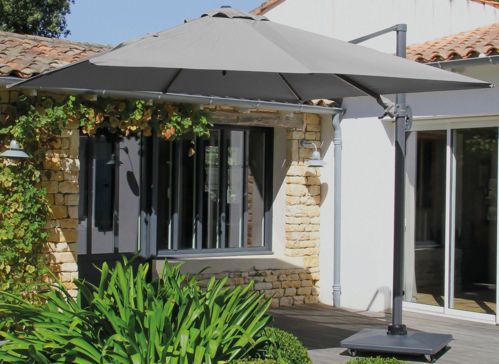 Parasol dport carr aluminium 3x3m  Mobilier de jardin  Proloisirs