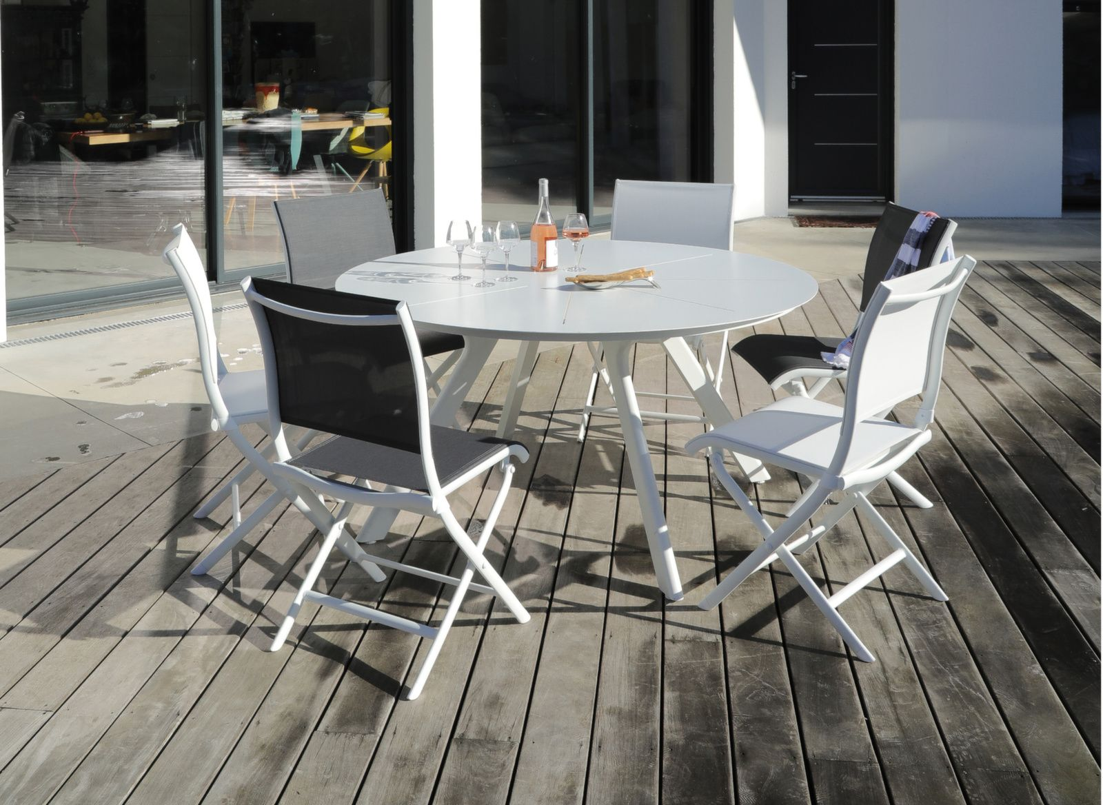 table ronde seven 150 cm