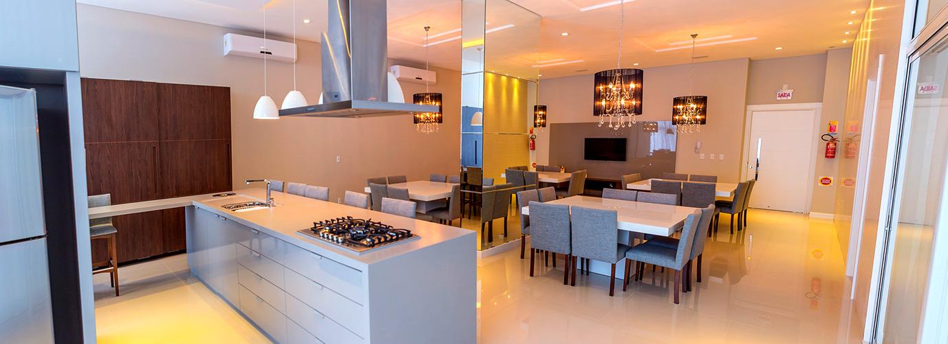 Espao gourmet uma tendncia nos apartamentos modernos  Proma