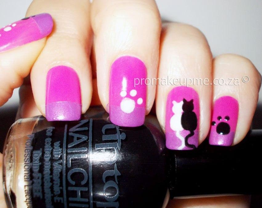 Kitty Cat Nail Art