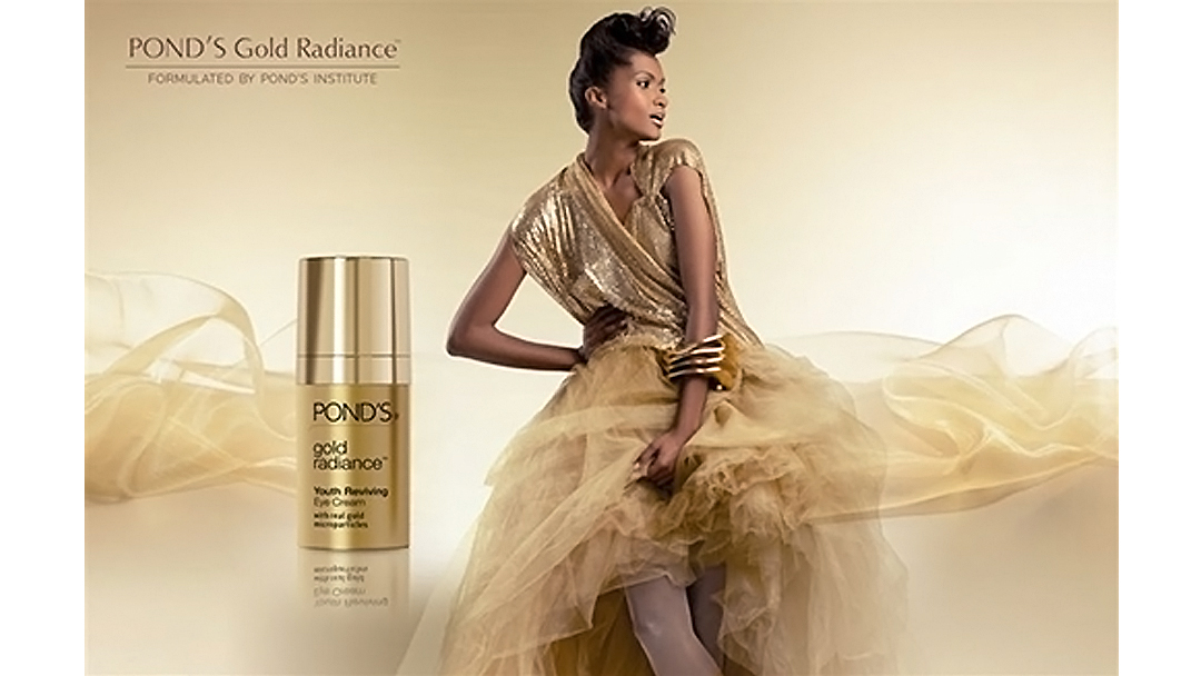 PONDS Gold Radiance Youth Reviving Eye Cream Feature