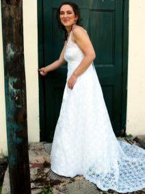 Ilana Wedding MakeUp Dress
