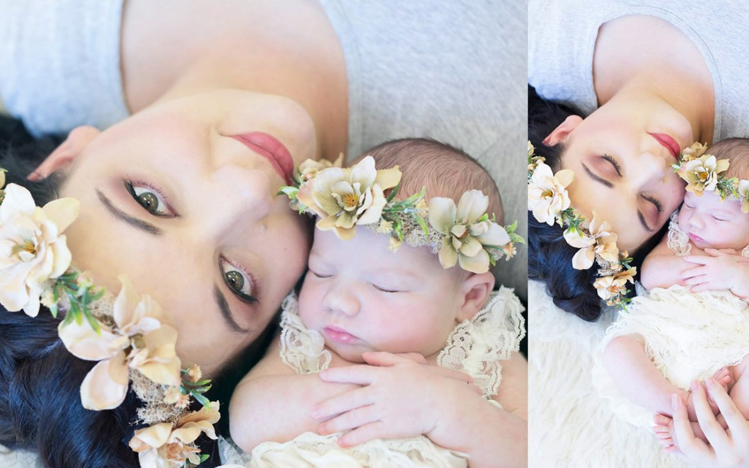 Lauriaan Snyman Newborn Shoot MakeUp Hair Feature