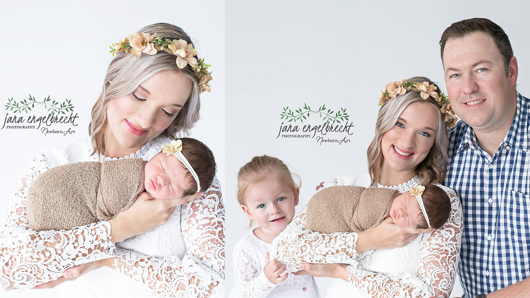 Brenda Brynard Newborn Family Shoot MakeUp Feature