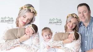 Brenda Brynard Newborn Family Shoot MakeUp Feature