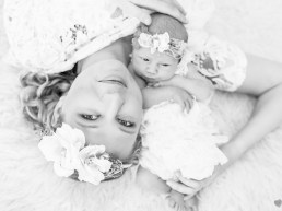 Chanele Newborn Photo Shoot MakeUp