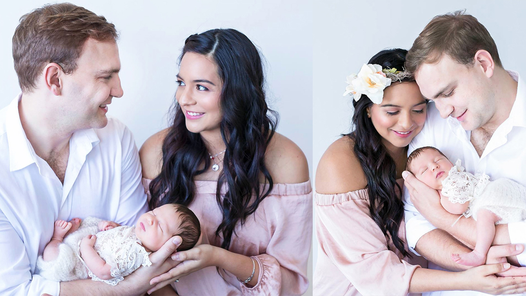 Valerie Hayworth Newborn Shoot MakeUp