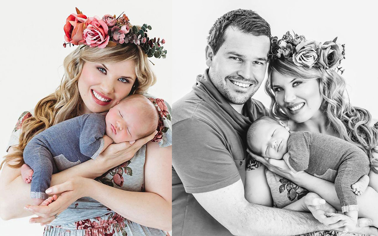 Andriette Moolman Newborn Shoot MakeUp Feature