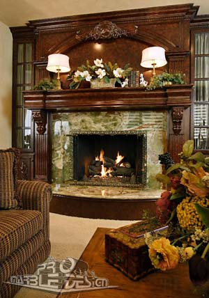 Fireplace Mantels Wet Bars Marble and Granite  Serving Orange County California and beyond