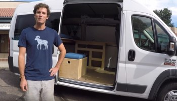 Simple Promaster Camper Van