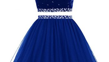 491775760a Himoda Women s Two Pieces Short Prom Gowns Beaded Homecoming Dresses H021