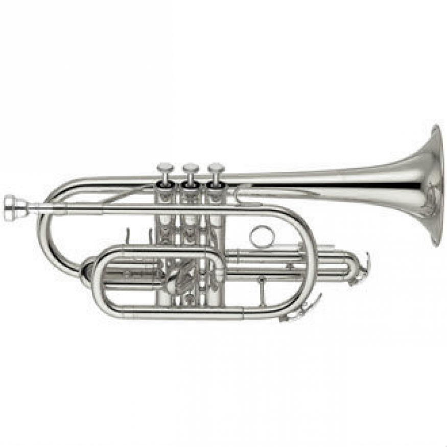 Yamaha YCR2330-SIII Bb Cornet (Silver Plated) with Case