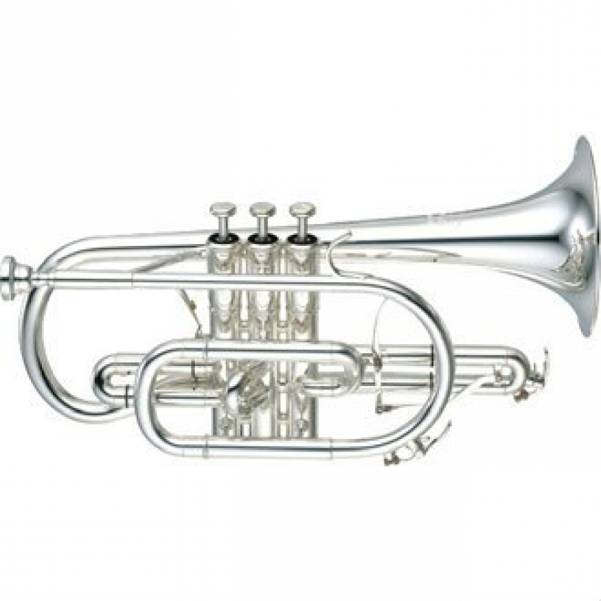 Yamaha YCR8335S-02 Bb Cornet (Silver Plated) with Case