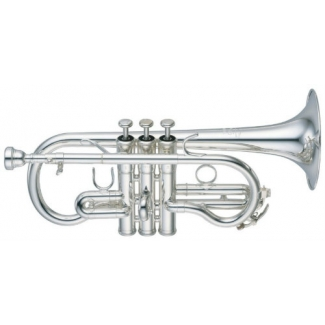Yamaha YCR8620S-02 Neo Eb Cornet with Case & Mouthpiece at