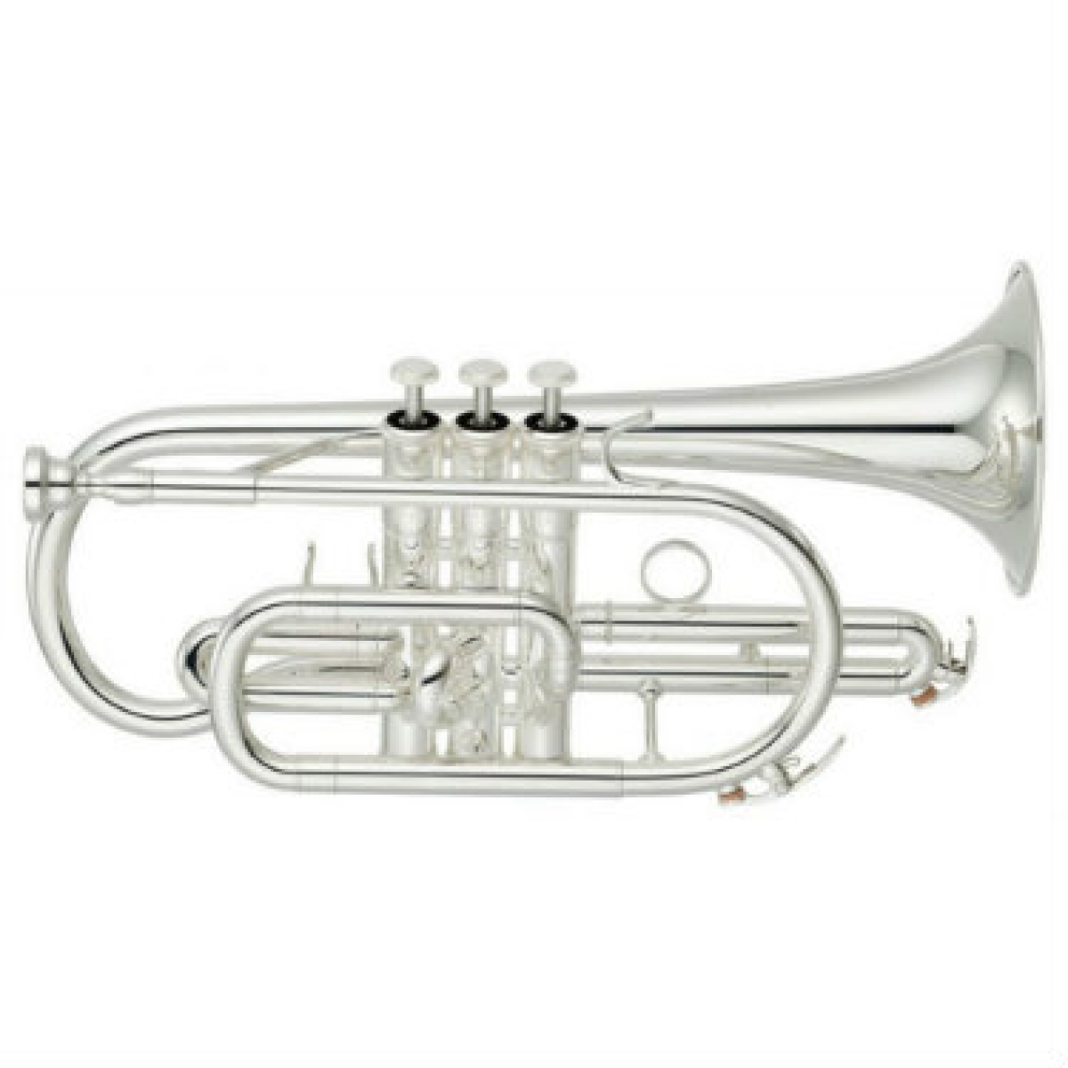 Yamaha YCR4330-GSII Bb Cornet (Silver Plated) with Case