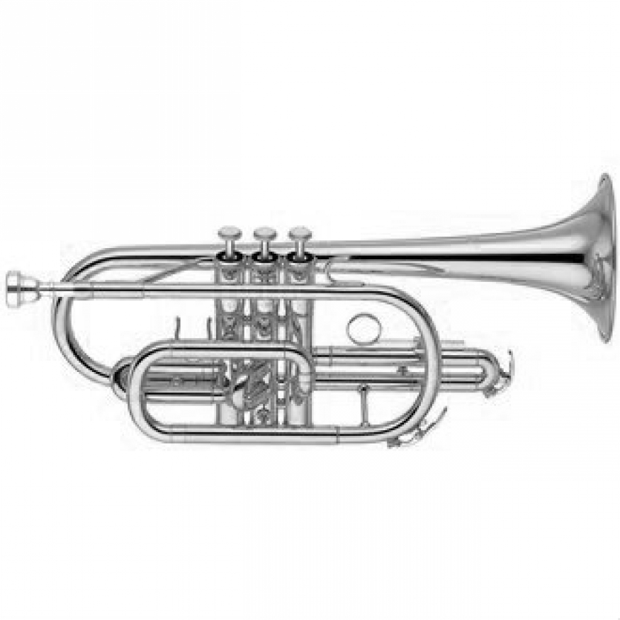 Yamaha YCR2310S-III Bb Cornet (Silver Plated) with Case