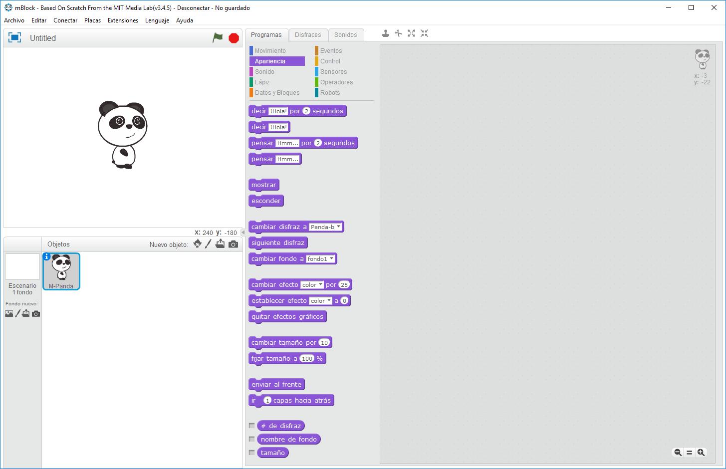 Programación Visual con mBlock | Aprendiendo Arduino