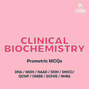 Clinical Biochemistry Prometric MCQs