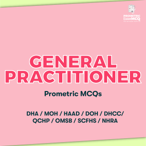 General Practitioner Prometric MCQs