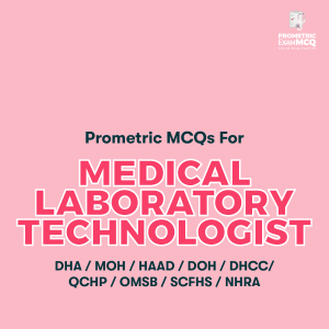 Prometric MCQs For Medical Laboratory Technologist