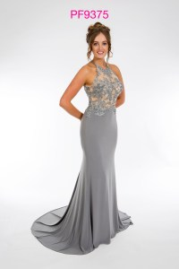 Prom Frocks PF9375 Pewter Prom Dress