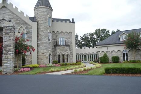 Landscaped Entrance
