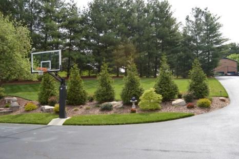 Landscaped Driveway