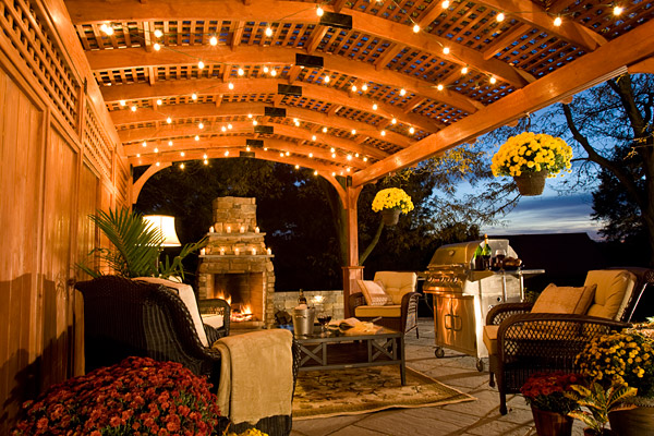 Fireside Pergola Design and Construction Kingsport, Greeneville, Johnson City