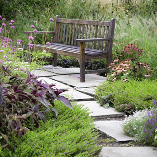 how to create a rustic garden