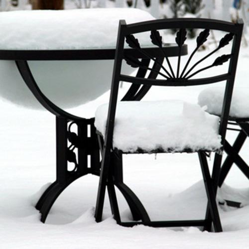 winterizing outdoor furniture