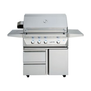 twin eagles 36 inch grill base with drawers
