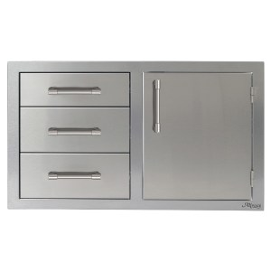 32inch 3 Drawers Door on right