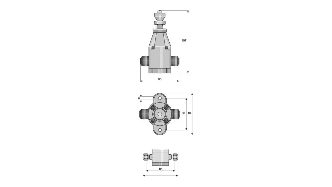 Back Pressure Valves / Relief Valves for Low-Pressure
