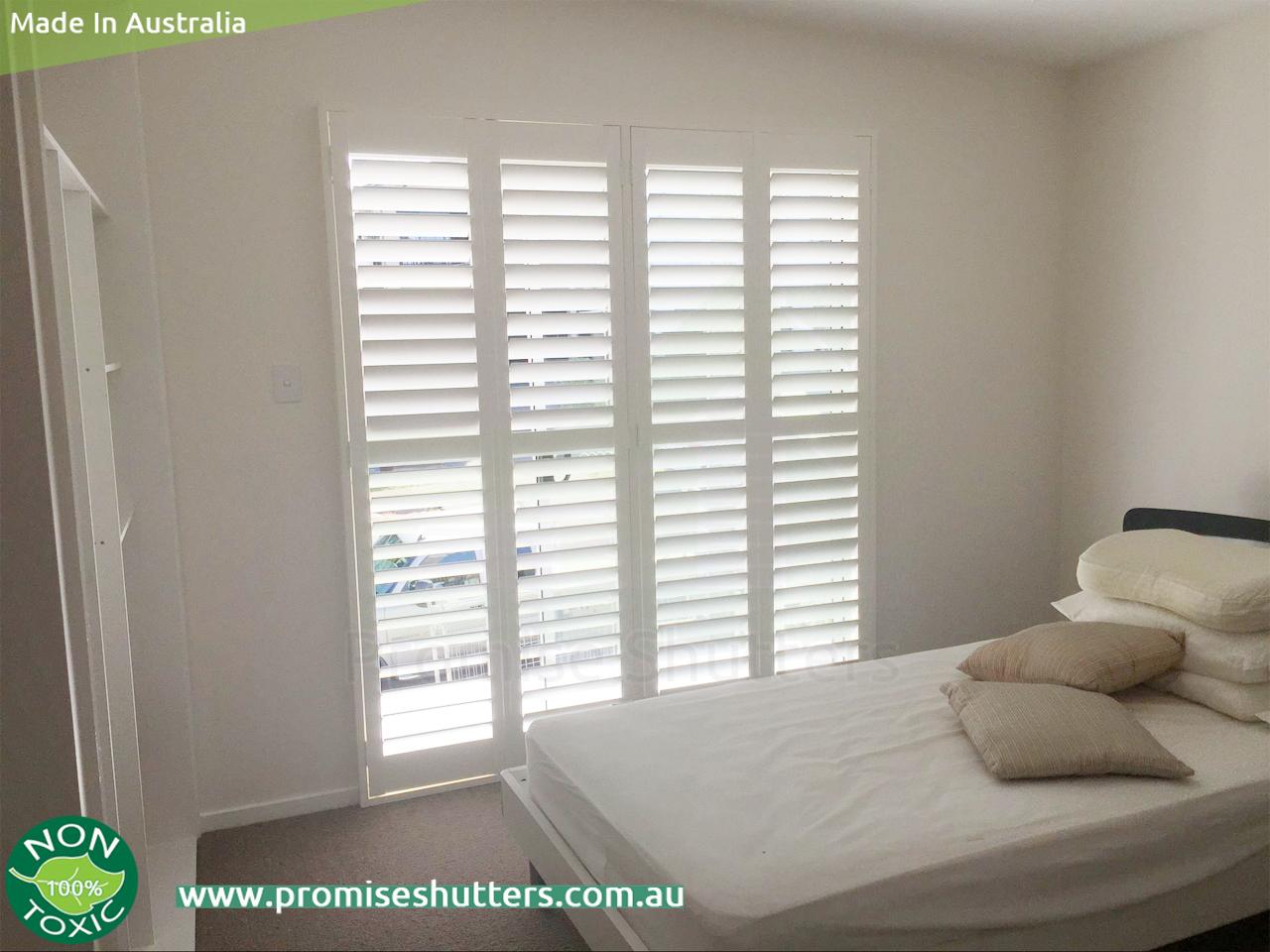 solid Vinyl window shutters installed in 1,2,4 panels, 4 ...