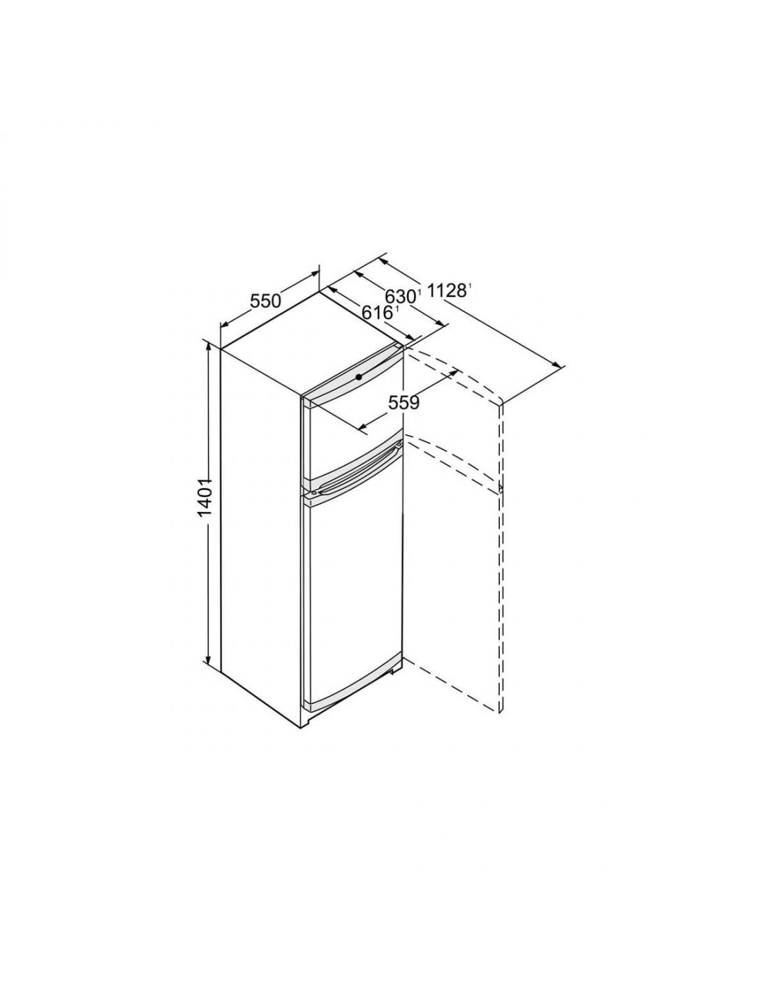 Réfrigérateur 2 portes 270L LIEBHERR CTP251