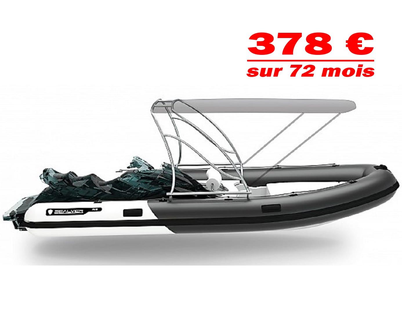 semi rigid 575 wake