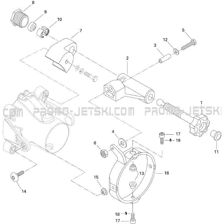05- Trim, Manual pour JetSki Seadoo HX, 5881, 1996 1996