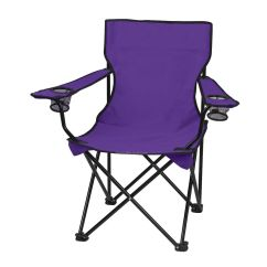 Wholesale Folding Chairs Tufted Side Chair With Carrying Bag Solid Color Blank