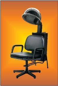 "Hair Dryer Chair Badge W/ Metal Pin (2-1/2""x3-1/2 ..."
