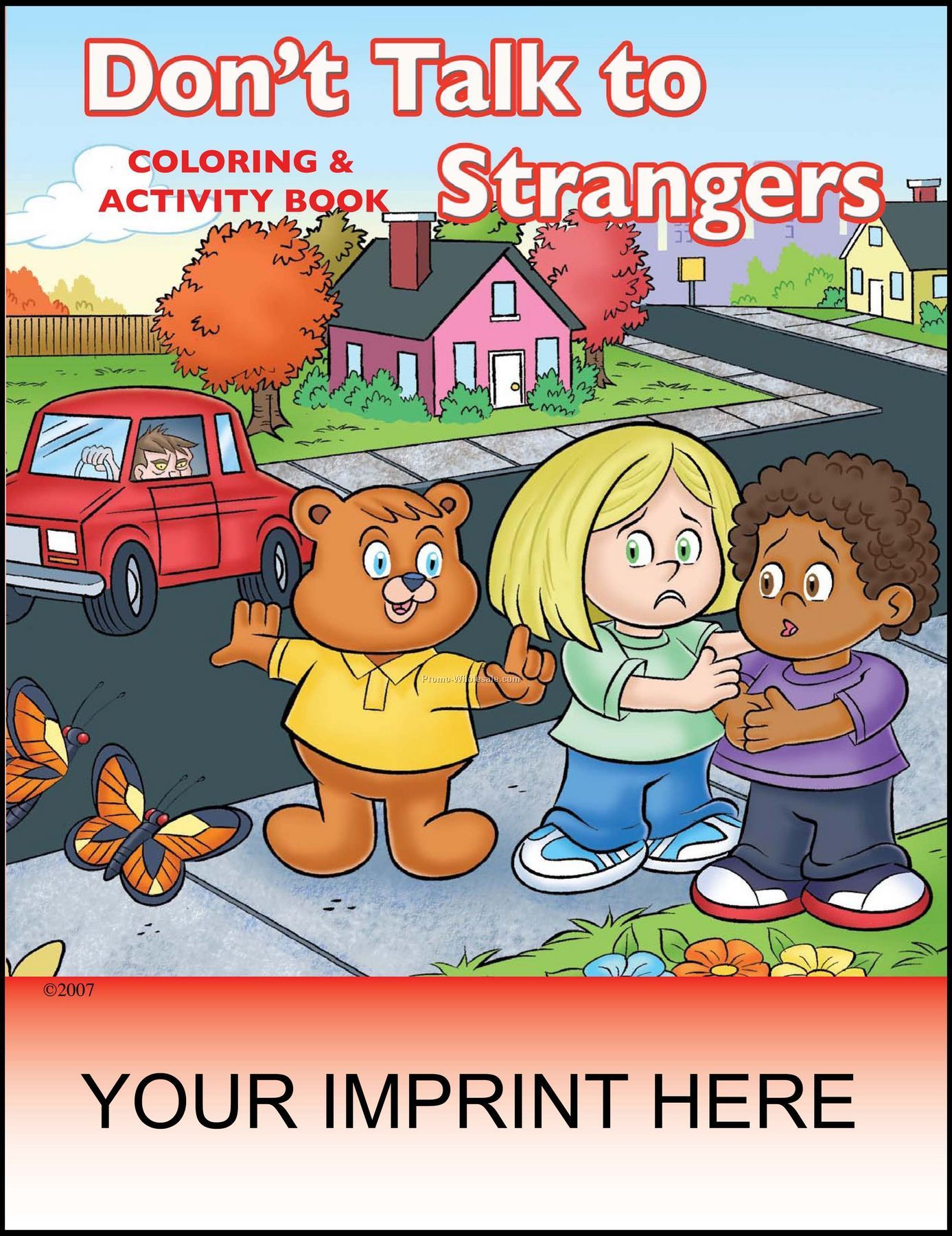 8 3 8 X10 7 8 Don T Talk To Strangers Coloring Amp Activity