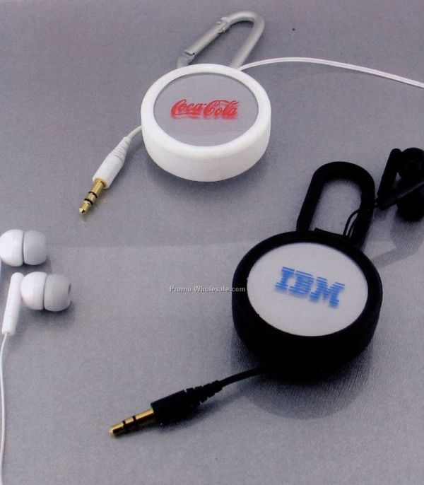 Retractable Pc Earphone With Microphone China