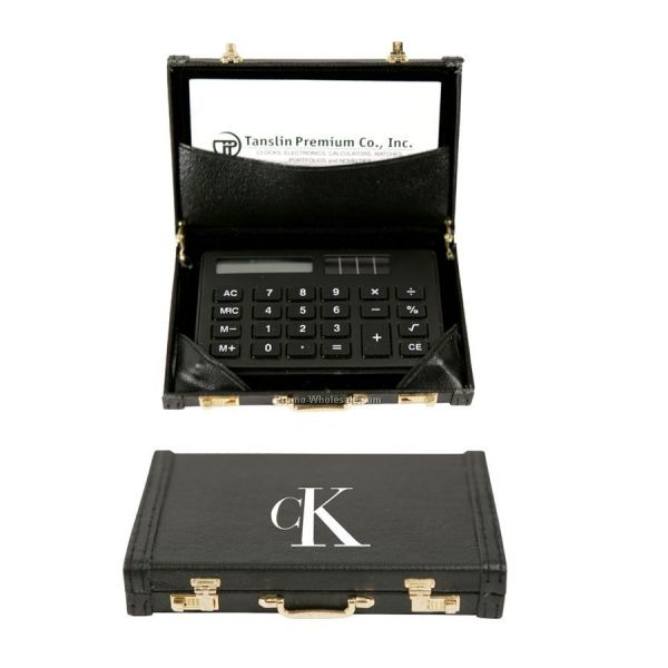 Credit Card Size Calculator And Business Holder In