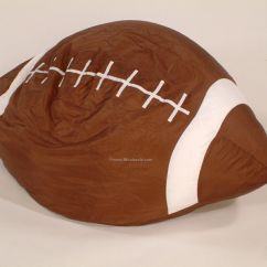 Football Bean Bag Chair Plastic Rail Manufacturers 22 Quotx24 Quotx23 Quot Twill Screen Printed